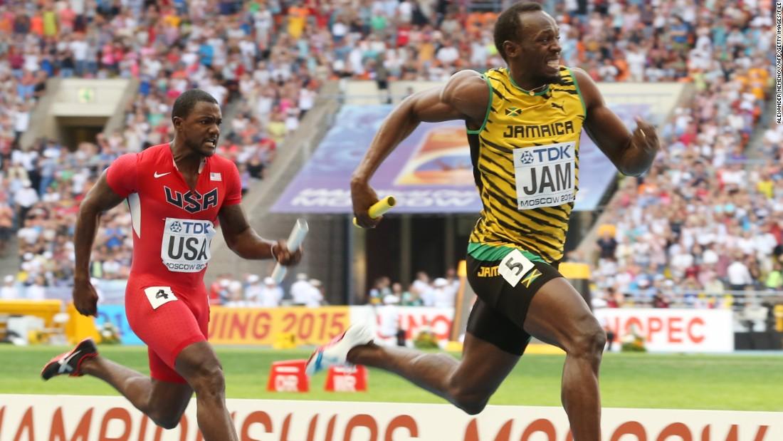Usain Bolt: Jamaican sprinter gunning for Justin Gatlin