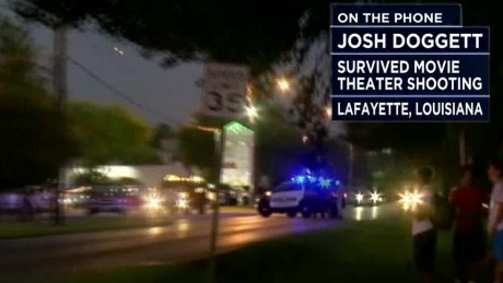 Lafayette shooting survivor: Gunman was 'calm'