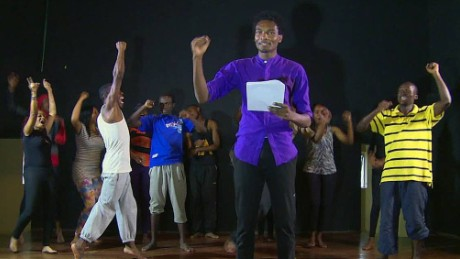 Kenyan musical brings Obama's life to the stage