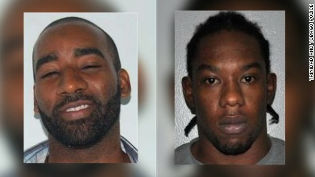 Escaped prisoners Hassan Atwell (left) and Christopher Selby.