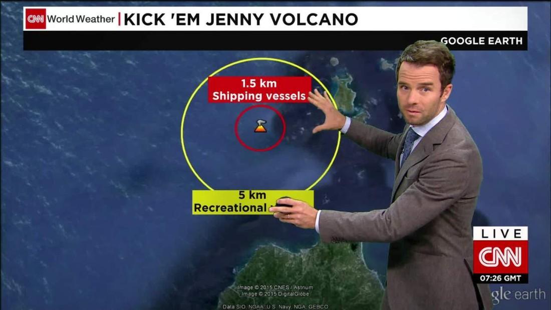 Ships on alert as Kick 'em Jenny volcano rumbles to life off Grenada