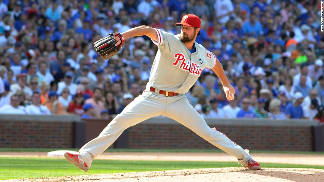 The 2008 World Series MVP suffered a temporary dip in form when niggling injuries took their toll in 2013. But the lefty came back in 2015 with a no-hitter, and followed that up with in 2016 with a stellar 15-5, 200 strikeout season for Texas. Hamels is in the fifth of a six-year $144 million deal.