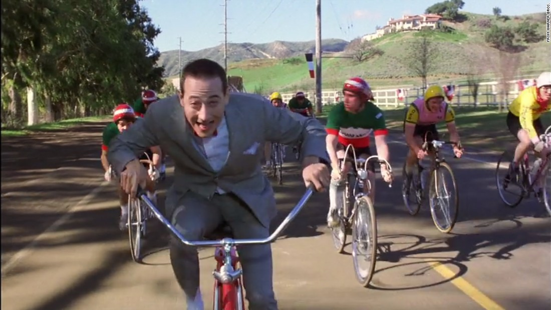 "<strong>""Paging Mr. Herman. Mr. Herman, you have a telephone call at the front desk."" </strong><br /><br />Paul Reubens developed the character of Pee-wee Herman onstage and brought him to the big screen in 1985 with ""Pee-wee's Big Adventure."" Thus began a pop culture phenomenon, complete with Saturday morning TV show, merchandise and a sequel. Click through the gallery to see where the adventure has gone in 30 years:"