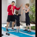 Cool Down Family High Five