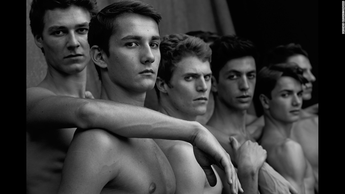 """There's not many male ballet dancers out there that people know of, but they know a lot about female ballerinas,"" Brookes said. ""It was something that I hadn't seen much of and I thought it might be an interesting project to focus on the boys."""