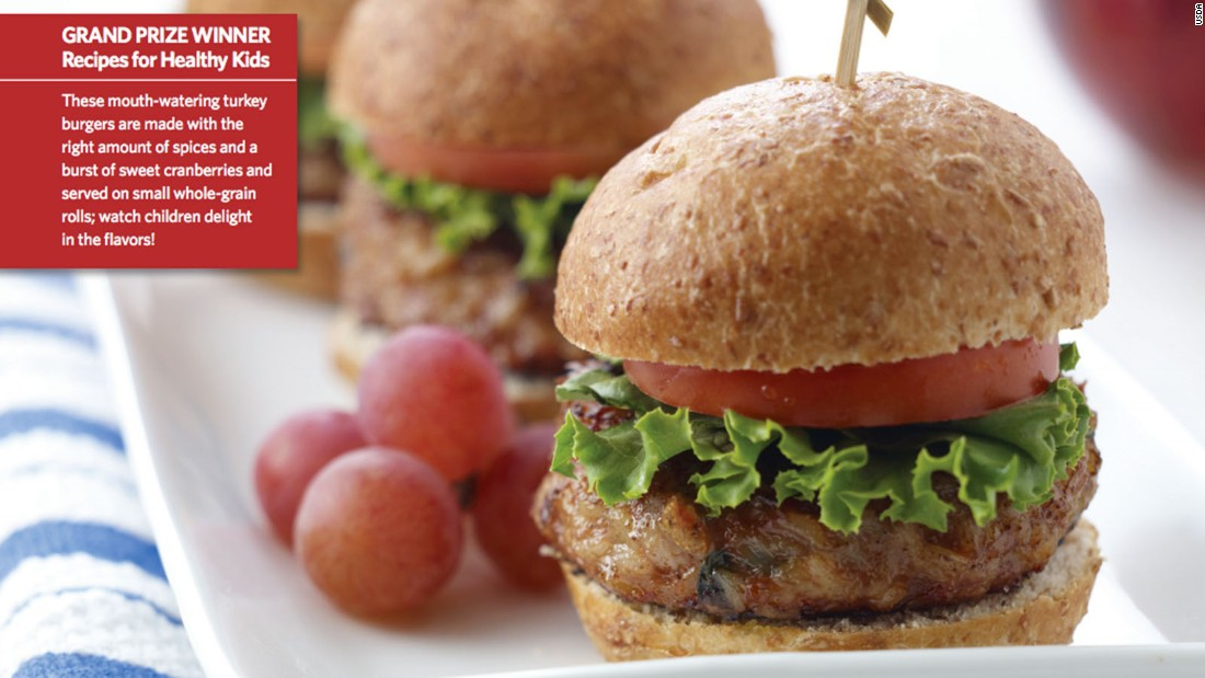 "<a href=""http://www.cnn.com/2015/08/05/health/porcupine-sliders-kids-recipe/index.html""><strong>CLICK HERE FOR FULL RECIPE</a></strong><br /><br />Studies show kids like to eat food with fun names, but this grand prize winner is as nutritious as it is tasty and fun to say.  The recipe for Porcupine Sliders was dreamed up by Chef Todd Bolton and students, community members and school professionals from the South Education Center Alternative School in Richfield, Minnesota."