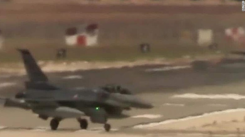 Turkish F-16s bomb ISIS targets in Syria