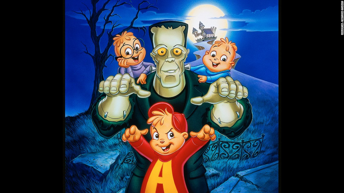 "<strong>""Alvin and the Chipmunks Meet Frankenstein""</strong>: Alvin, Simon and Theodore wander the grounds of a movie theme park where they work after hours and encounter a special someone. <strong>(Netflix) </strong>"