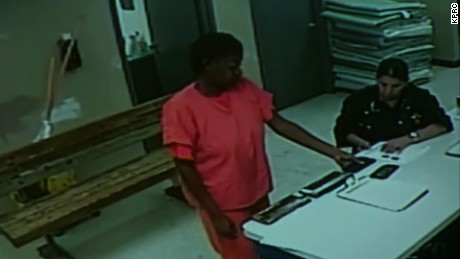 sandra bland jail surveillance video lavandera live nr_00002330.jpg