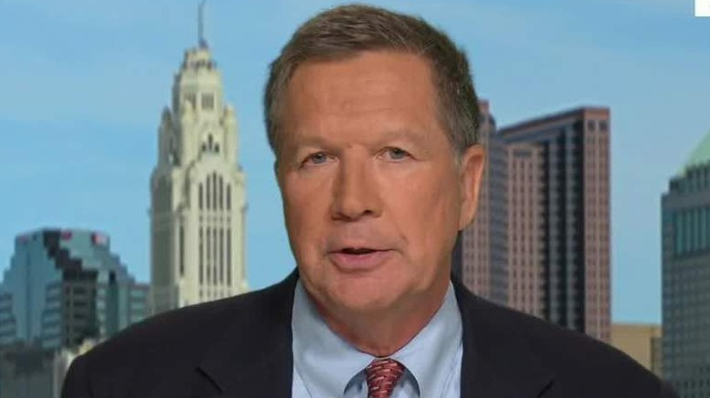 John Kasich on Donald Trump: Leave him alone