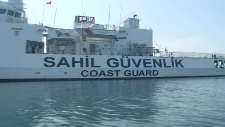 Turkey's Coast Guard on frontline of refugee smuggling