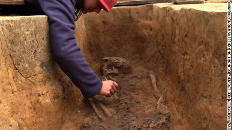 Remains of early settlers identified