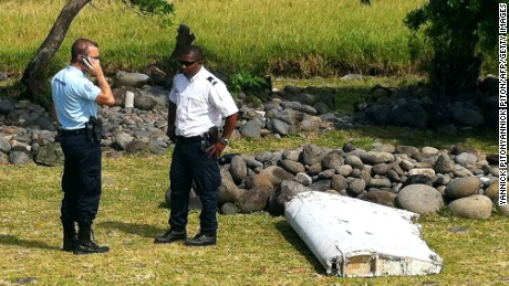 Airplane debris is being examined to see if it's connected to MH370.