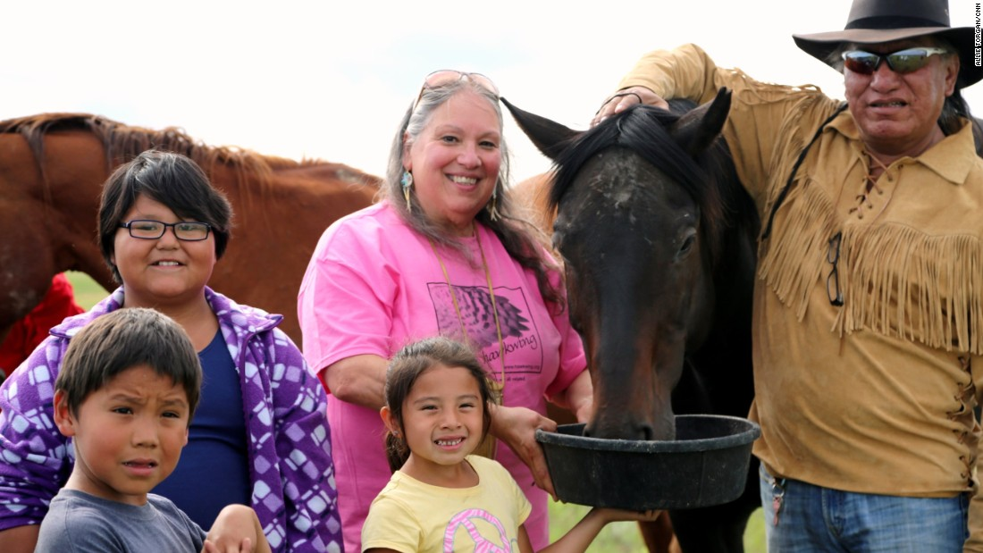 "<a href=""http://www.cnn.com/2015/07/30/us/cnn-heroes-ripley/index.html"" target=""_blank"">Rochelle Ripley's</a> nonprofit has delivered an estimated $9 million in services and goods to the Lakota people. She and volunteers run a food bank and provide free health services, home renovations and educational opportunities."