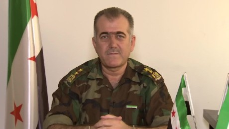 Free Syrian Army Col.: We need a buffer zone