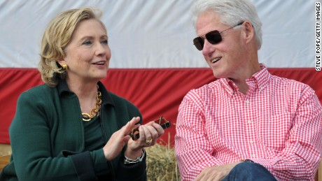 Bill Clinton hits the campaign trail