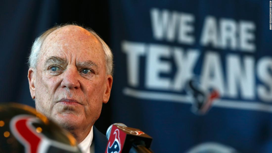 Houston Texans owner Bob McNair has contributed $500,000 to groups supporting Jeb Bush, Scott Walker, Ted Cruz and Lindsey Graham.