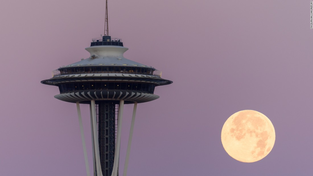 "Photographer <a href=""http://ireport.cnn.com/docs/DOC-1261097"" target=""_blank"">Tim Durkan </a>captured the bright blue moon in Seattle on Friday, July 31, 2015. ""It was spectacular to watch,"" he said. Click through to see more photos from around the world."