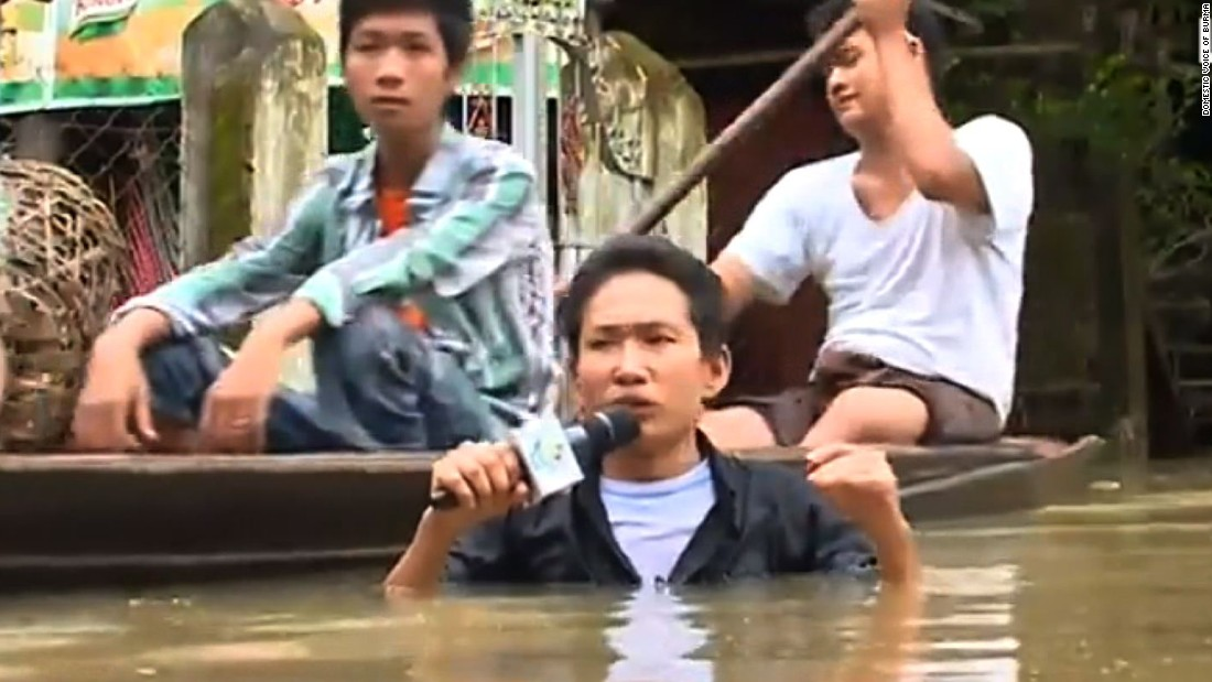 Monsoon rains displace thousands in Myanmar