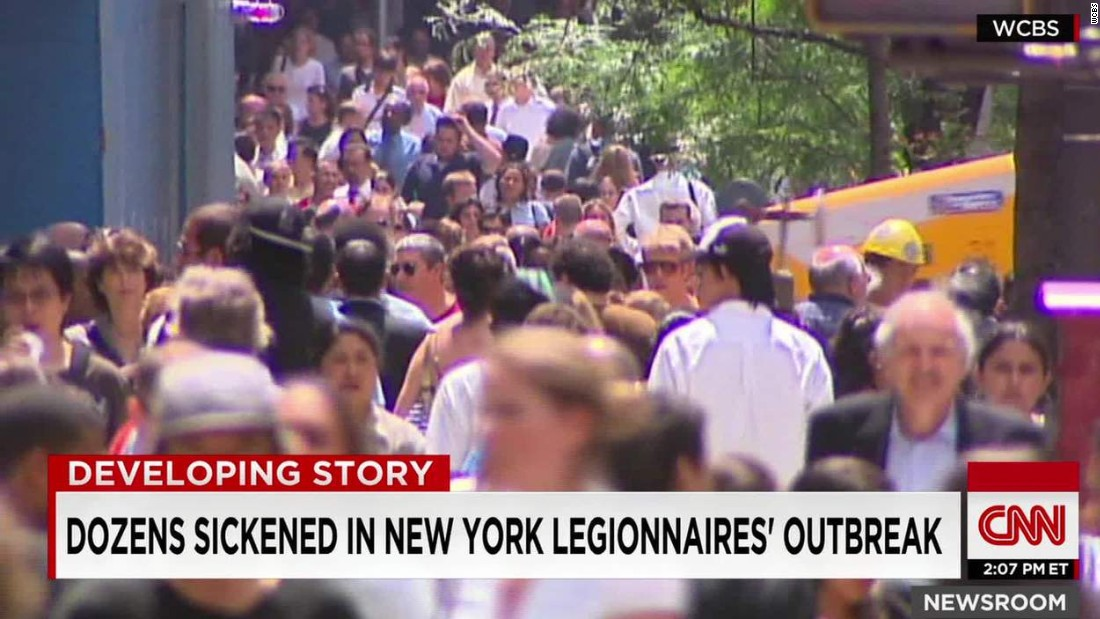 NYC Mayor: Legionnaires' disease outbreak has peaked