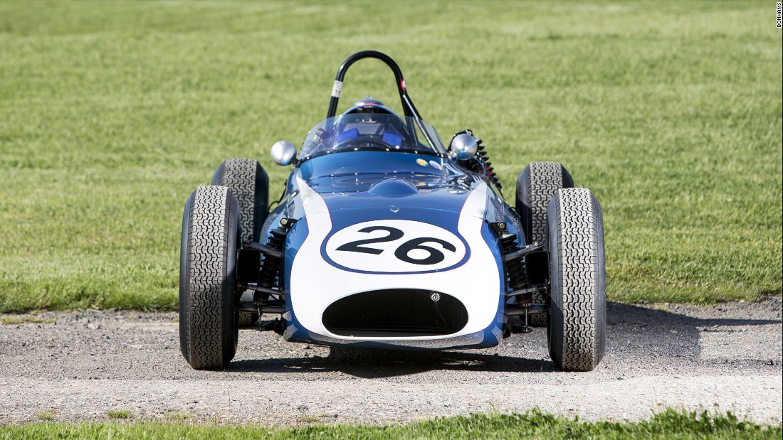 The team was owned by Lance Reventlow -- heir to the Woolworth fortune. This is the car he drove during Scarab's one and only F1 season in 1960. It is expected to fetch as much as $1.5 million in an auction at the Goodwood Revival meeting on September 12.