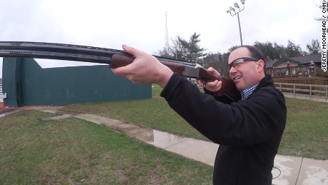 Senator Mike Lee goes skeet shooting with SE Cupp
