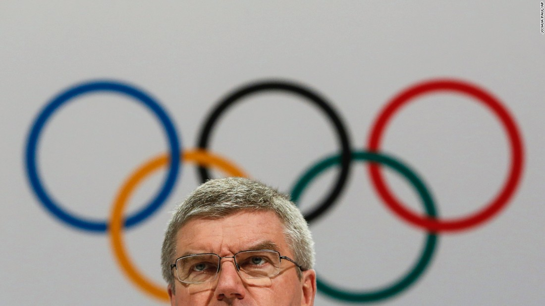 "Thomas Bach, the president of the International Olympic Committee, speaks at a news conference in Kuala Lumpur, Malaysia, on Monday, August 3. Allegations published in the Sunday Times and aired in a documentary by German broadcaster ARD claim that a third of track-and-field medals awarded in the Olympic Games and World Championships between 2001 and 2012 were won by athletes who recorded suspicious doping tests. Bach <a href=""http://www.cnn.com/2015/08/02/sport/athletics-doping-allegations-wada/index.html"" target=""_blank"">promised that the IOC will pursue a policy of ""zero tolerance""</a> if the allegations are proven."