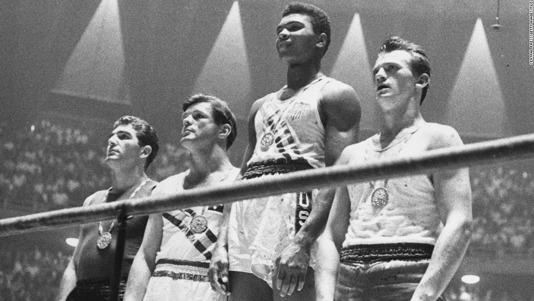 "Before he was ""The Greatest,"" Muhammad Ali was Cassius Clay, a modern-day gladiator who won boxing's light heavyweight gold medal in Italy's historic capital."