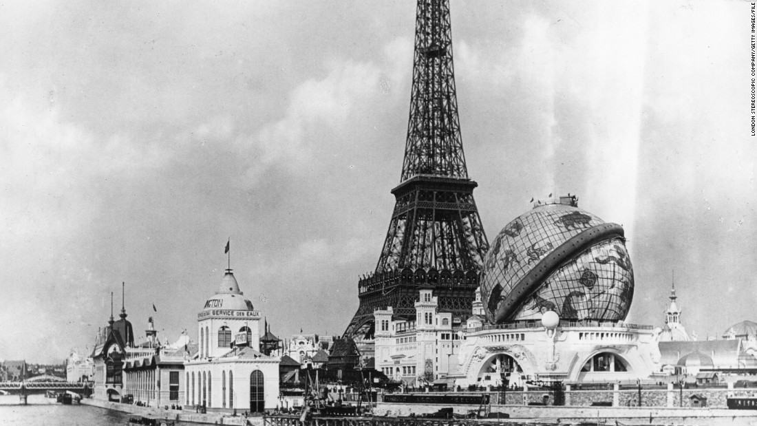 "Four years later, the Games were held as part of the world's fair in the French capital. The Eiffel Tower was a central focus of the ""Exposition Universelle."""