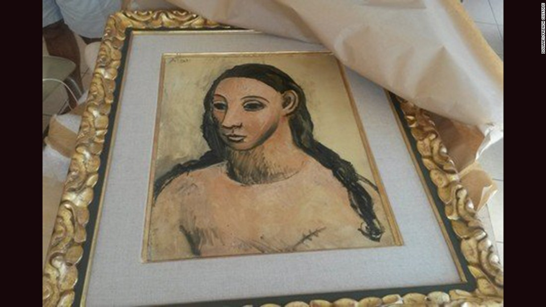 A Picasso worth $27 million is seized by customs officials in France