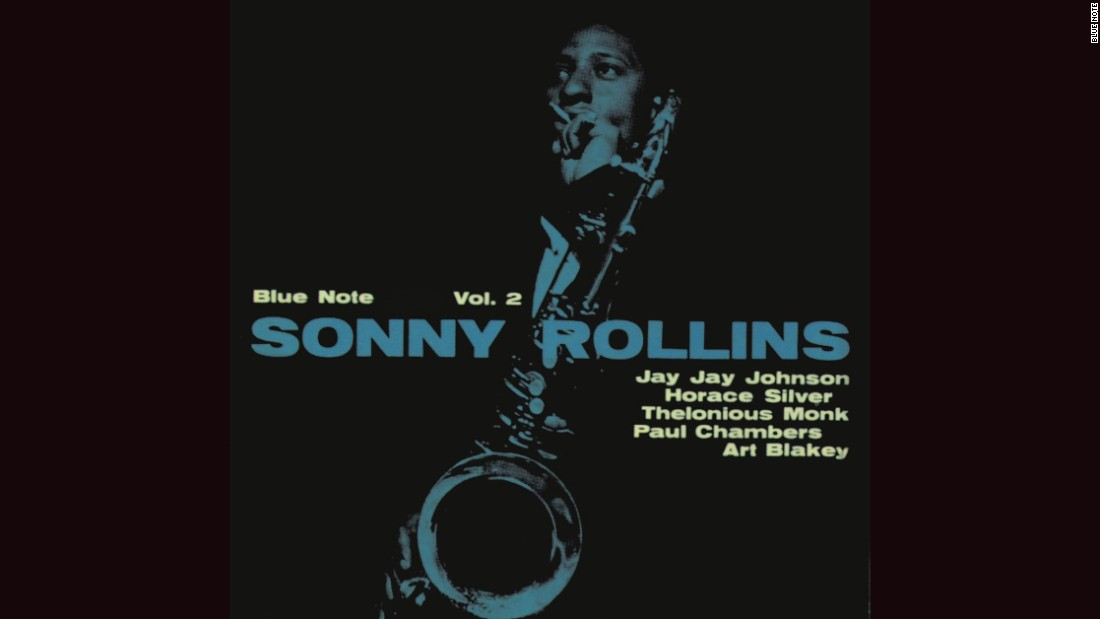 "<strong>""Sonny Rollins Vol. 2""</strong>: Rollins' 1957 cover, with a photograph by Francis Wolff, is so distinctive that Joe Jackson copied it practically note-for-note (so to speak)<a href=""http://cdn.discogs.com/PEQVLAXoWXN3dqWUKaJuzkCaq80=/fit-in/600x600/filters:strip_icc():format(jpeg):mode_rgb():quality(96)/discogs-images/R-6425341-1418909830-2814.jpeg.jpg"" target=""_blank""> for his 1984 album ""Body and Soul.""</a><br />"
