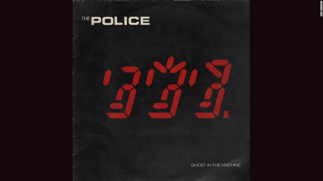 "<strong>""Ghost in the Machine,"" the Police</strong>: There's something creepy about the chaotic digital display on the cover of the Police's 1981 album, though the image -- by Mick Haggerty -- is supposed to represent the three band members' faces. Others see <a href=""http://www.feelnumb.com/2012/10/16/the-police-ghost-in-the-machine-album-cover-hidden-666/"" target=""_blank"">something even more sinister</a>."