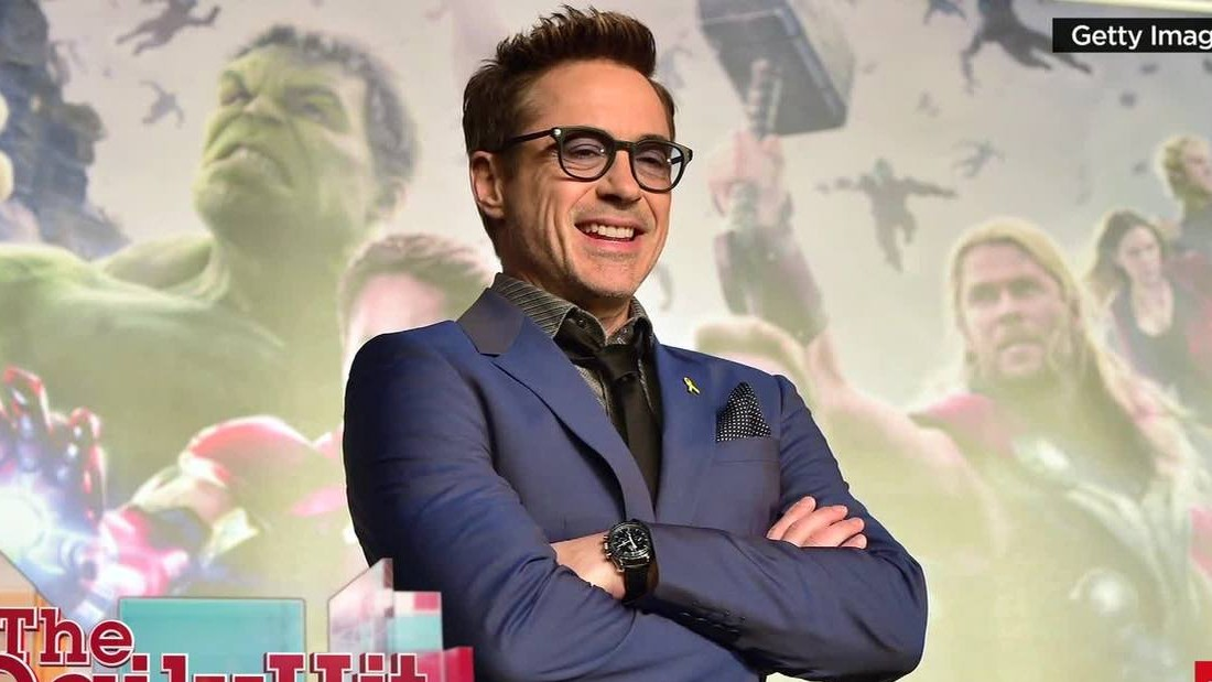 Robert Downey Jr. is the world's highest paid actor ... again