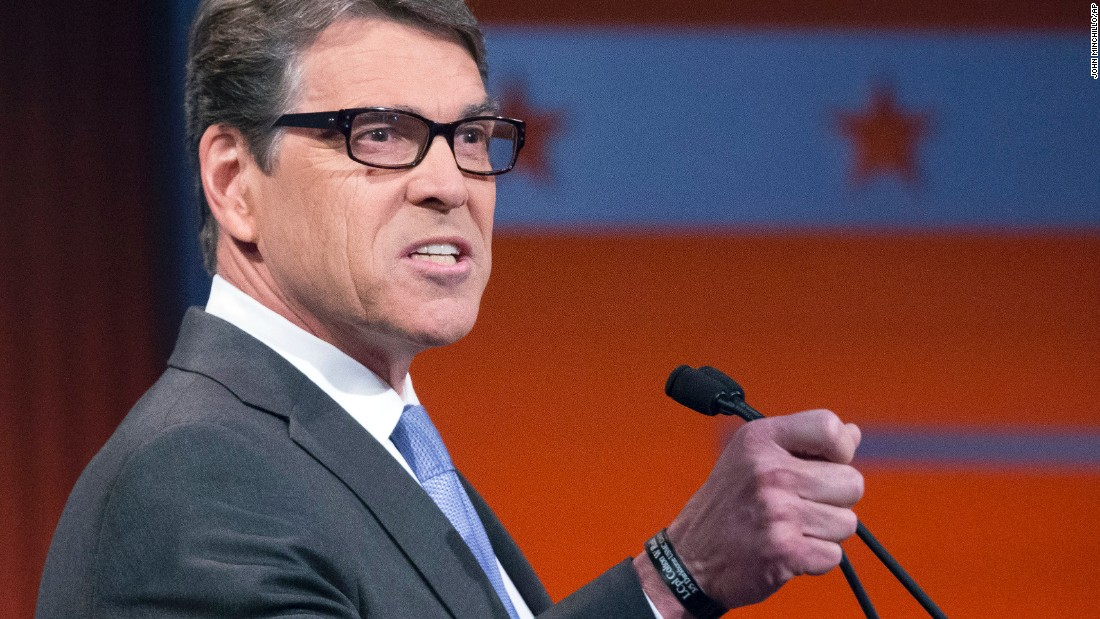 "Former Texas Gov. Rick Perry has previously said that gun-free zones are ""a bad idea"" and said he believes people should be able to take their firearms to the movies."