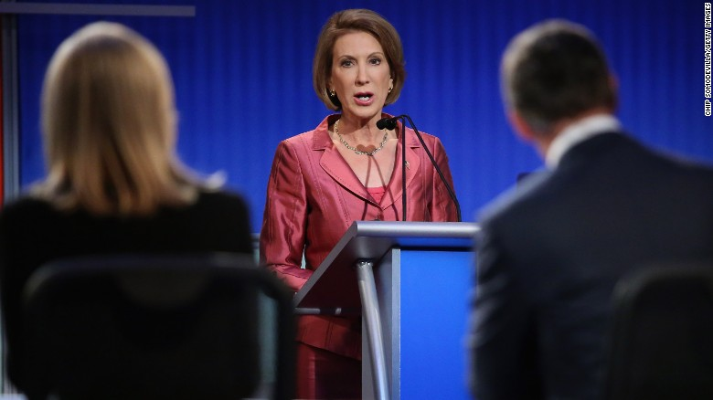 Fiorina criticizes President Obama on the Iran deal