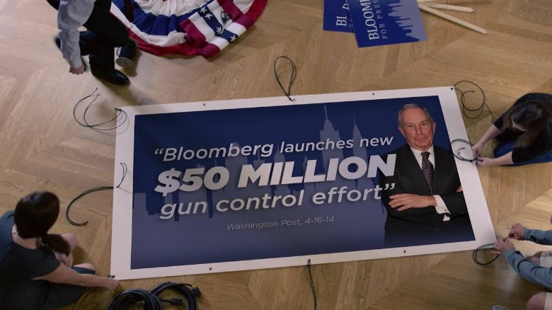 NRA ad targets Bloomberg