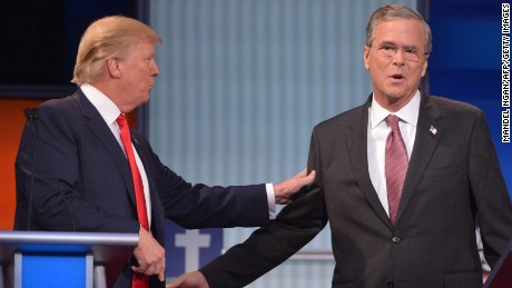 Jeb Bush opposed Donald Trump's call to end birthright citizenship on Tuesday.