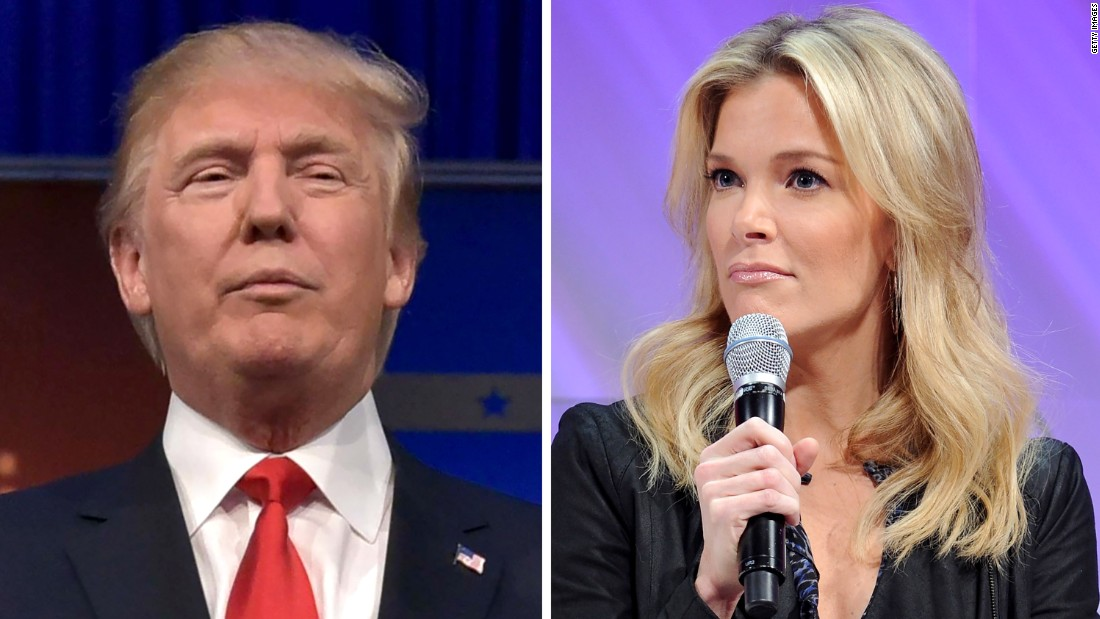 Donald Trump's 'blood' comment about Megyn Kelly draws outrage