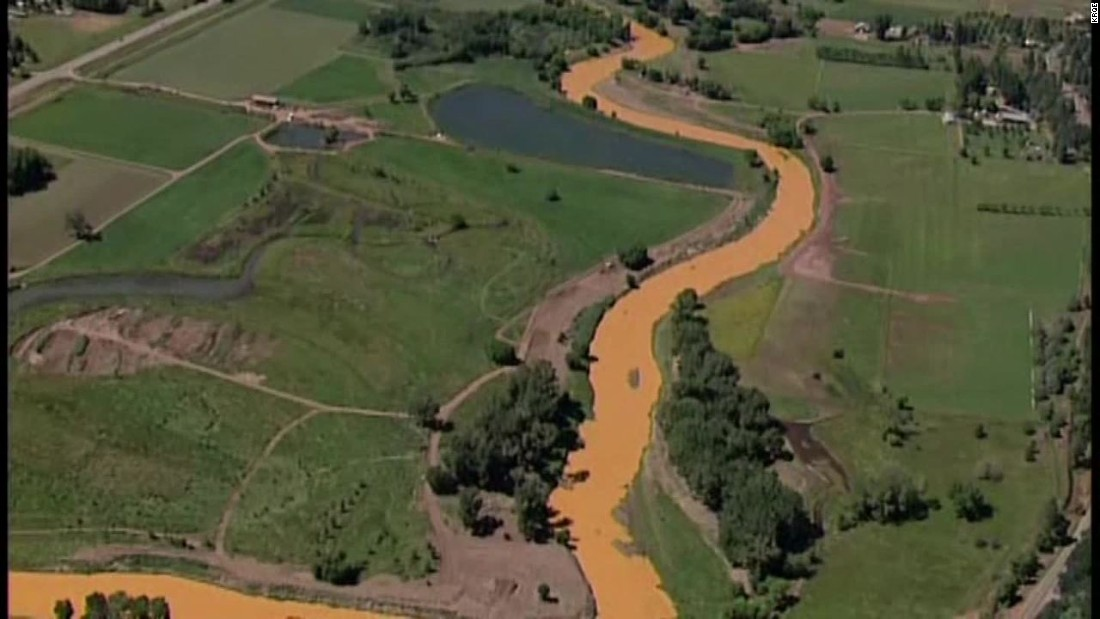 Health impact of Animas River toxic spill: 'This is a real mess'