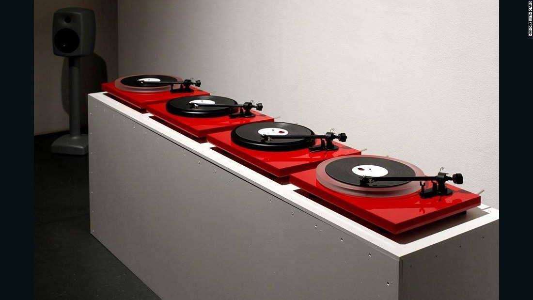 Analysts believe vinyl's future could be as a luxury niche, with collectors investing in equipment and curating themed events.