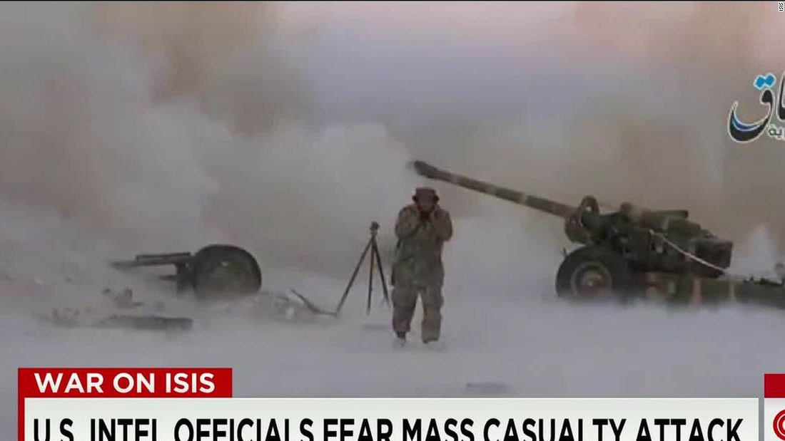 ISIS seen building capacity for mass casualty attacks