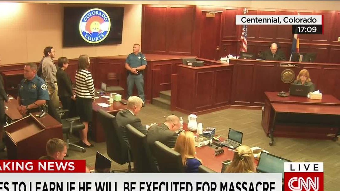 James Holmes sentenced to life in prison for Colorado movie theater murders