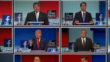 What did the GOP candidates' body language say?