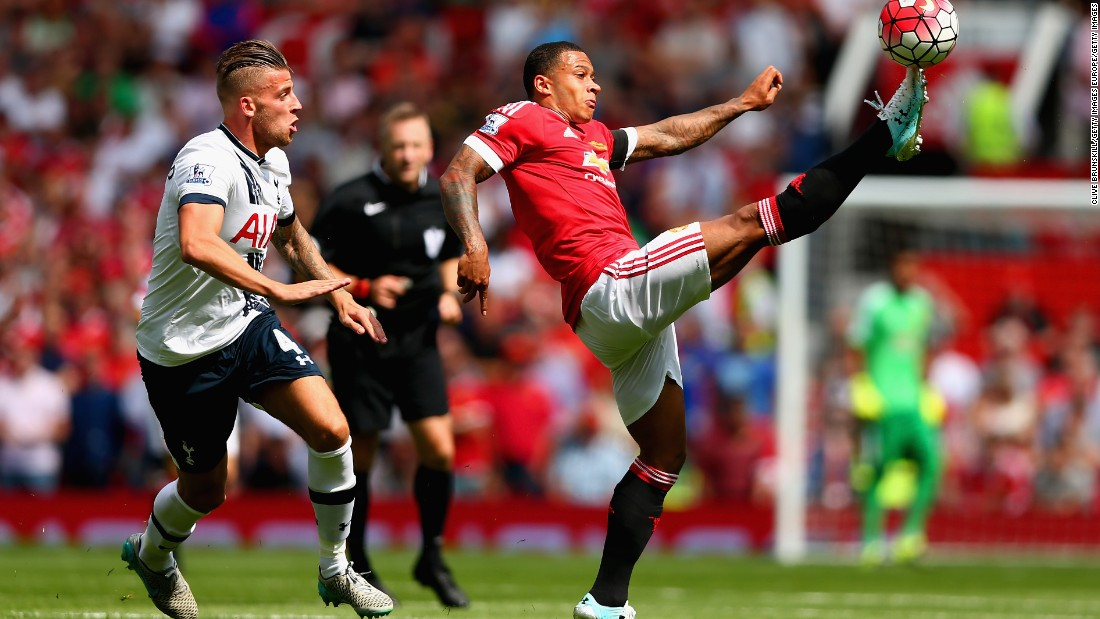 Memphis Depay -- Manchester United's new $34 million winger -- played 67 minutes in an impressive debut for the Red Devils.