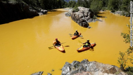 EPA spill turns Colorado river orange