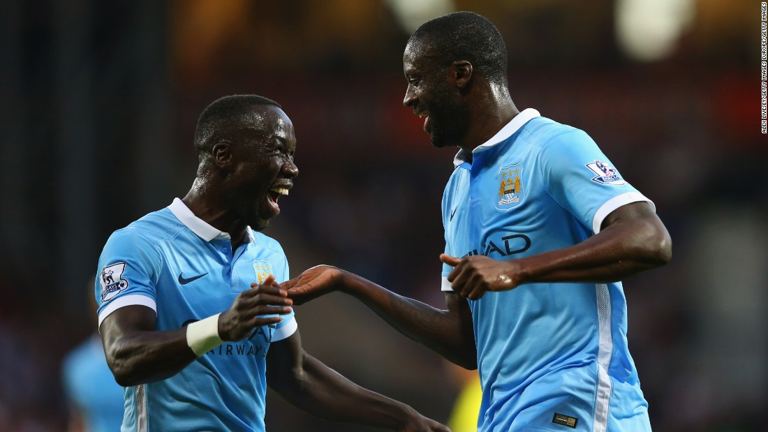Yaya Toure was the star of the show as Manchester City defeated West Bromwich Albion with ease in its opening game of the Premier League season.