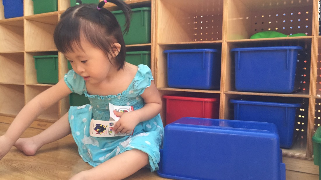 Yi Tan was born in 2012 with congenital heart disease and Down's syndrome. Since CNN's last visit to the orphanage in August, she's found a new home.