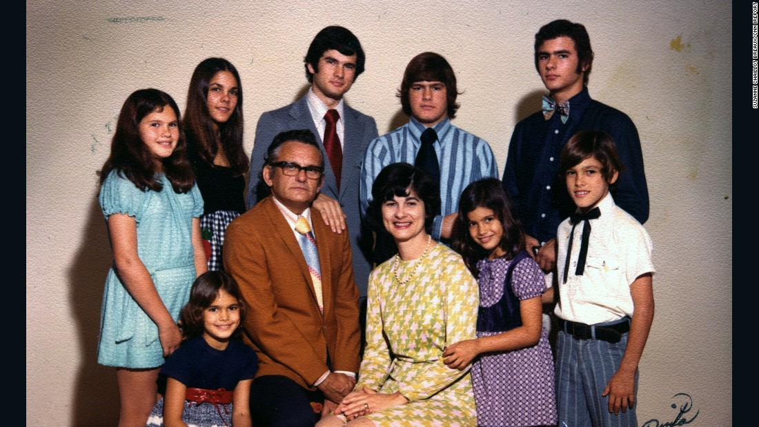 Raised in a Cajun household in New Orleans, Johnny Chaillot-Louganis (bottom right) and his seven siblings learned to stick together and watch out for each other. The family, pictured in 1970, suffered a profound loss when the matriarch of the family died weeks before Hurricane Katrina struck the Gulf Coast in August 2005. This is the story of how Chaillot-Louganis healed after the storm.