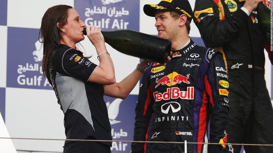 There are also more women working engineering F1's super-fast cars too. Gill Jones -- Red Bull Racing's head of trackside electronics -- is so integral to the marque's success that she went up to collect the team trophy at the 2013 Bahrain Grand Prix, which was won by Sebastian Vettel.