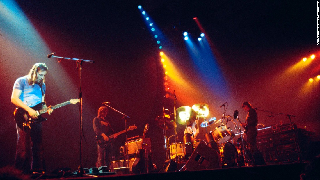 "Progressive British rockers Pink Floyd, here on their ""Animals"" tour in 1978, were one of the most acclaimed and influential bands of the decade. Their classic 1973 album, ""Dark Side of the Moon,"" lingered on the Billboard chart for more than 14 years."